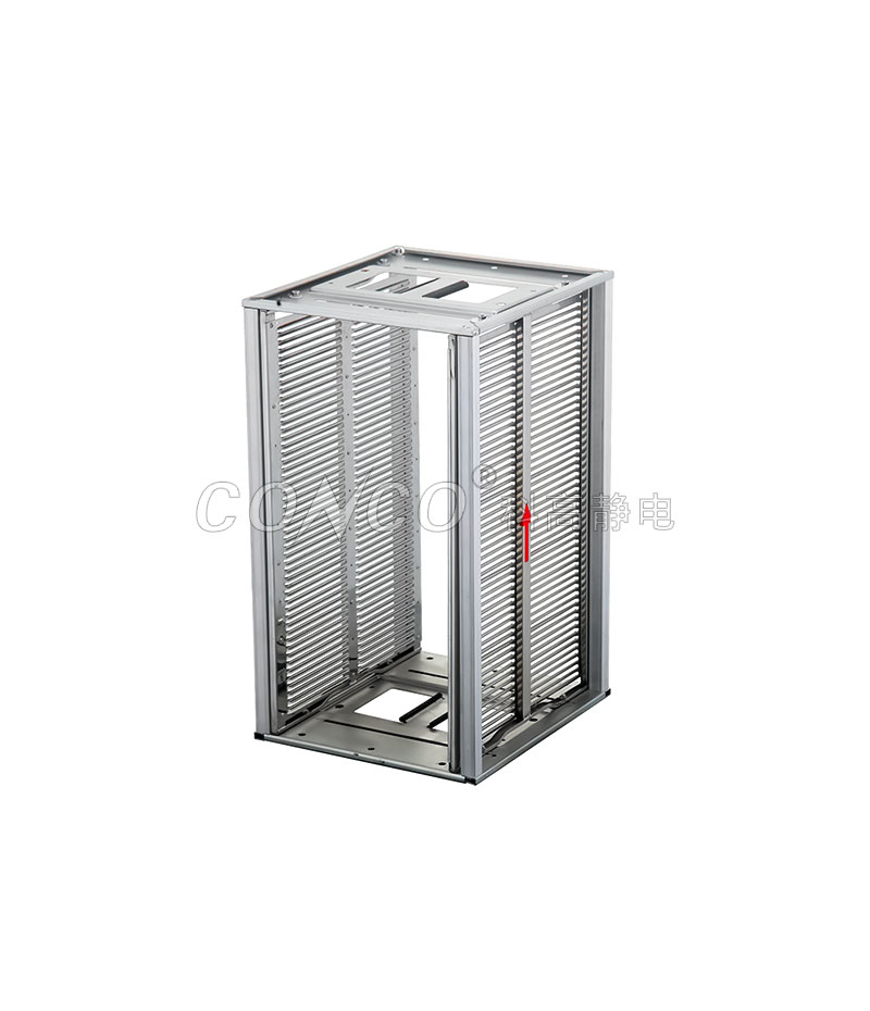 Smt esd stainless pcb magazine rack COP-811