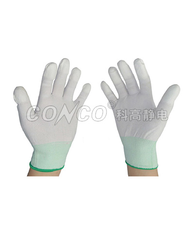 Esd PU Palm Coated Gloves