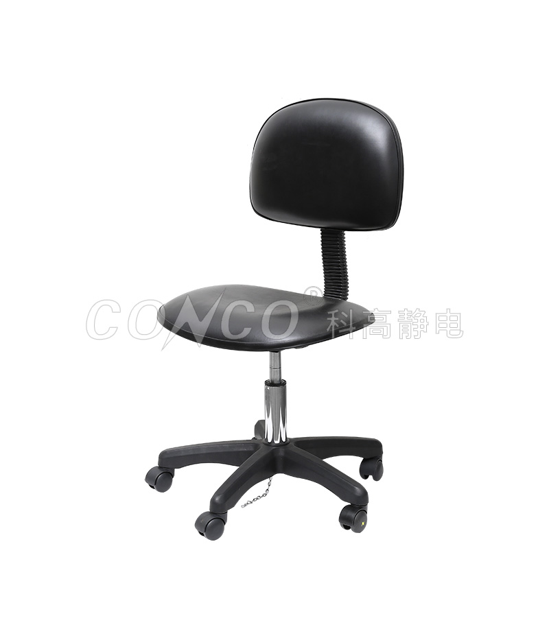 COS-101 ESD PU Black Chair