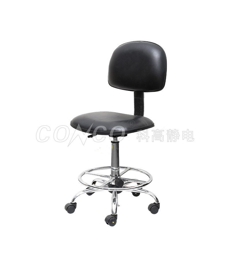 COS-103 ESD footrest ring chair