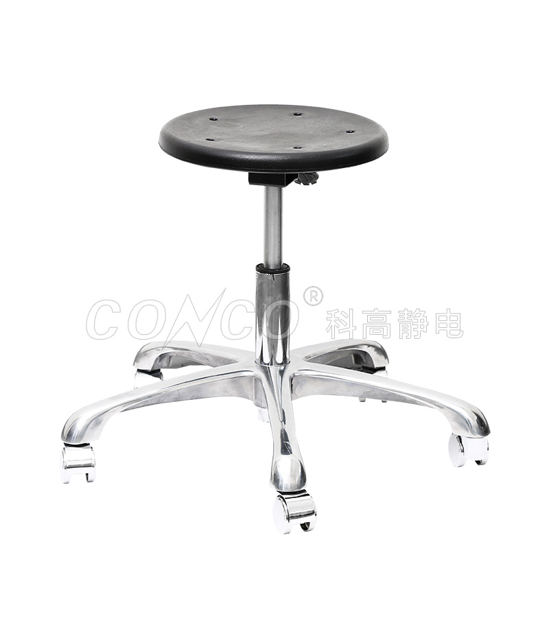 COS-110 Antistatic pu foam stool