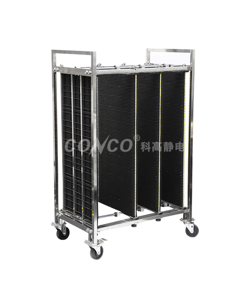 COC-603A ESD antistatic pcb storage trolley