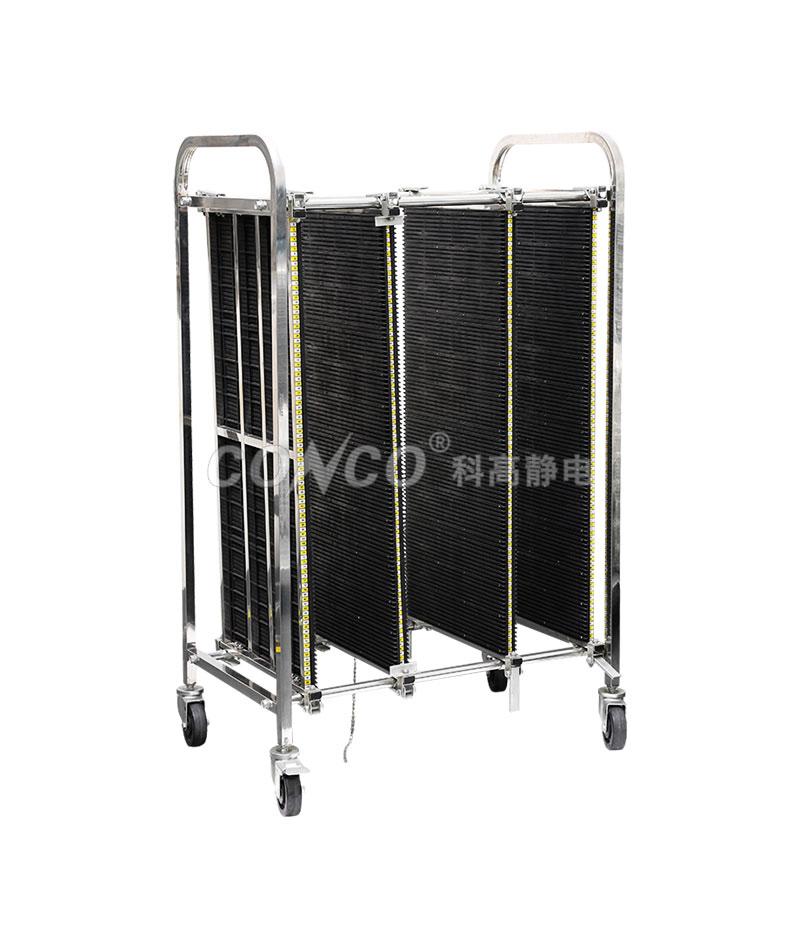 COC-603 ESD Antistatic PCB Storage Trolley