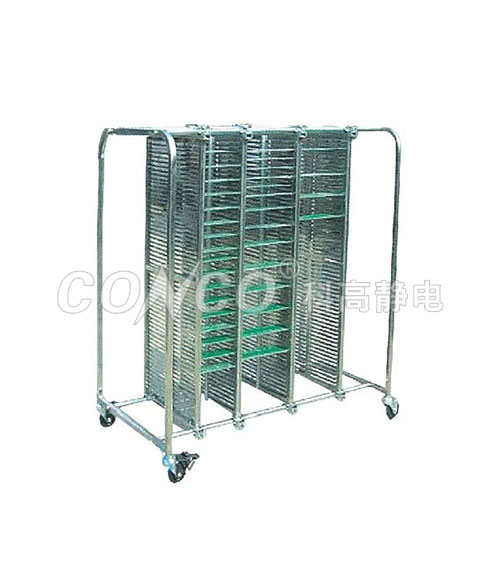COC-604 ESD Stainless Steel Trolley