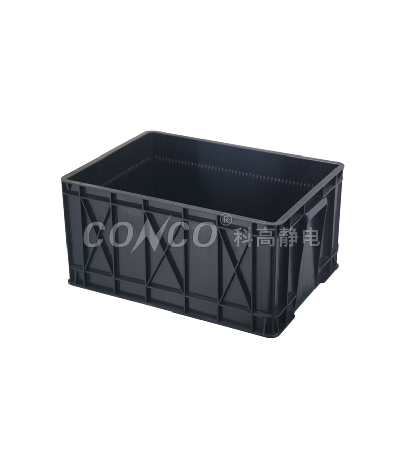 Black Plastic ESD Circulation Box