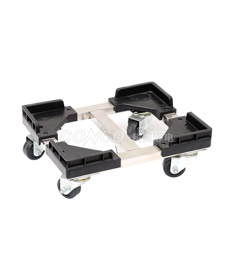 COC-605A ESD Antistatic PCB Magazine Rack Moving Cart
