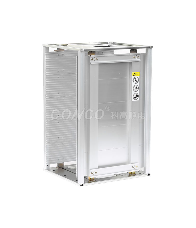 ESD Aluminum PCB Magazine Rack COP-804L