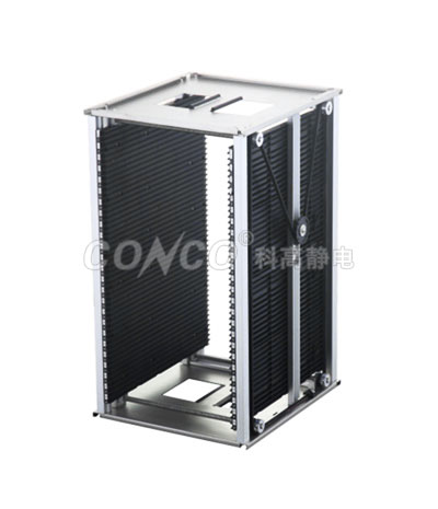 Belt adjust esd magazine rack COP-814