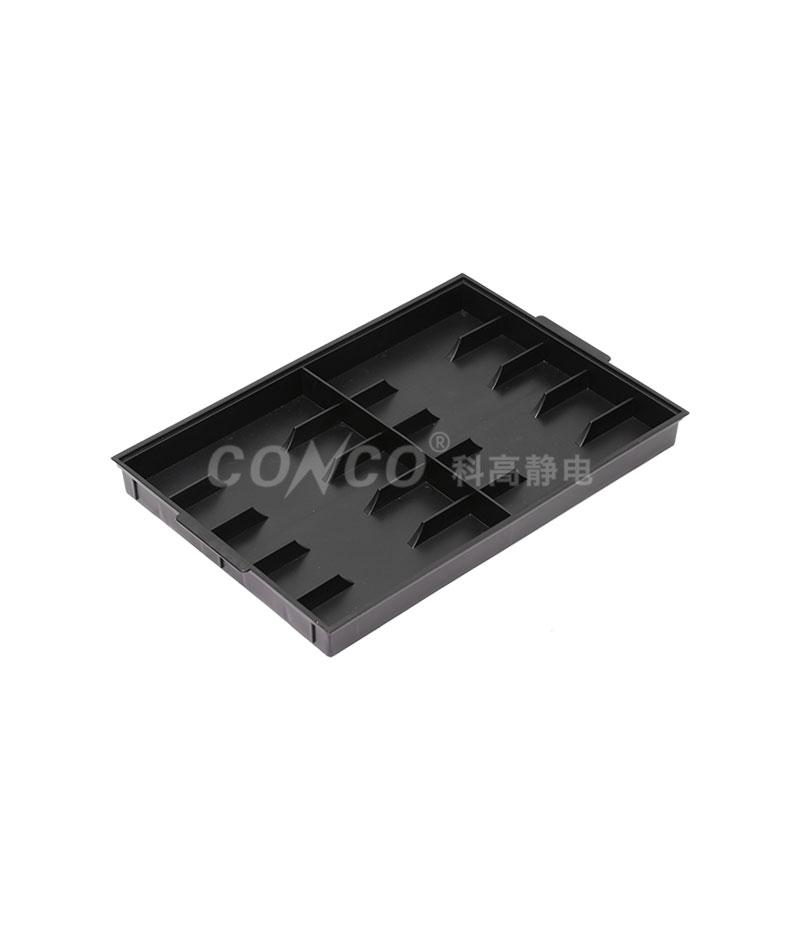 COP-3210 Black Plastic ESD Tray
