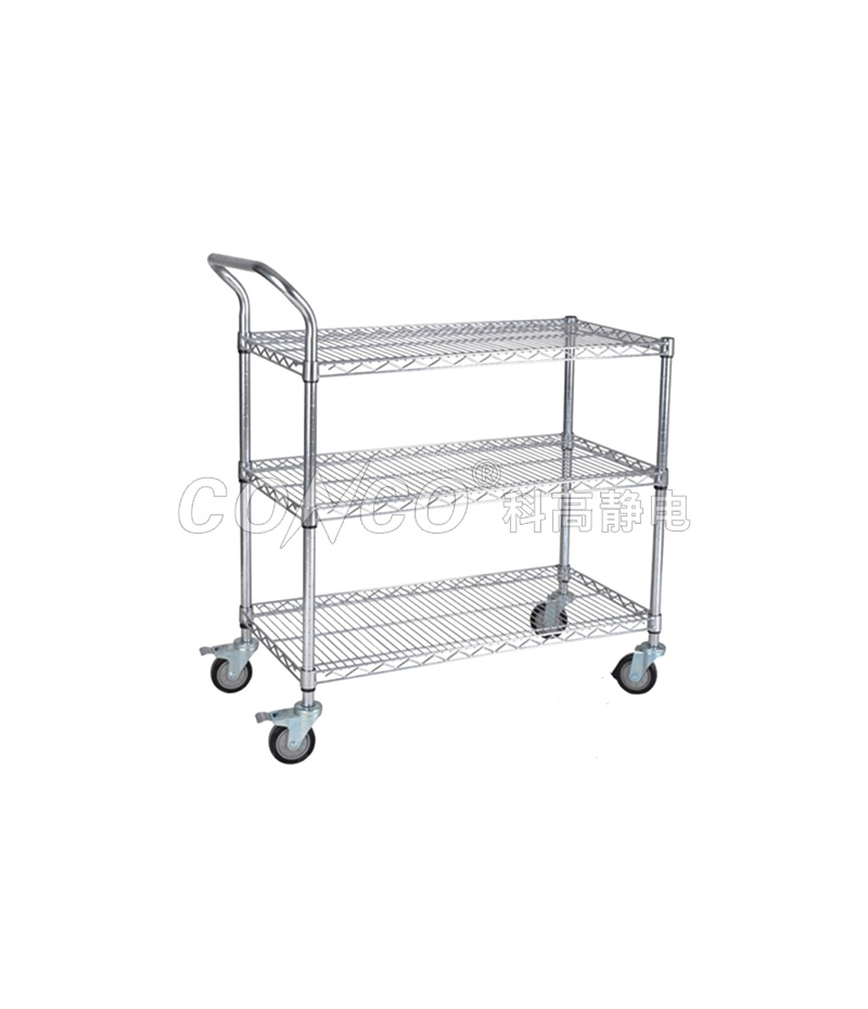 COC-607A ESD Wire Shelving  Cart